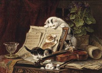 a curiosity for music by henriette ronner-knip