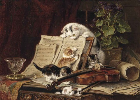 a curiosity for music by henriette ronner knip