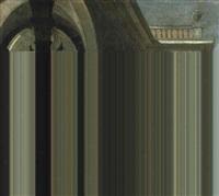 drei damen auf der terrasse eines renaissancepalastes by wilhelm schubert van ehrenberg