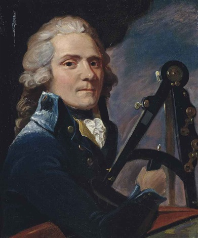 portrait of a gentleman traditionally identified as lord spencer compton 1738 1796 bust length in a blue coat holding a sextant by john singleton copley