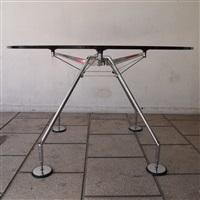 table haute, modèle nomos by norman foster