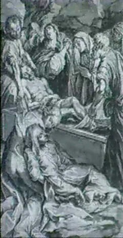 the entombment by lorenzo peracini