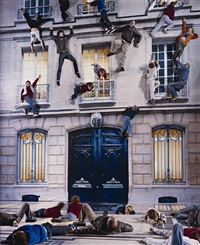 nuit blanche 2 by leandro erlich