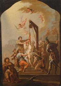 das martyrium des heiligen bartholomäus by austrian school (18)