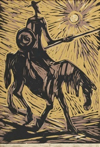 don quijote by josef fischnaller