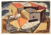 seagulls (+ boatyard, lrgr; 2 works) by riva helfond