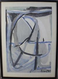composition by bram van velde