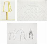 untitled (3 works) by thomas scheibitz