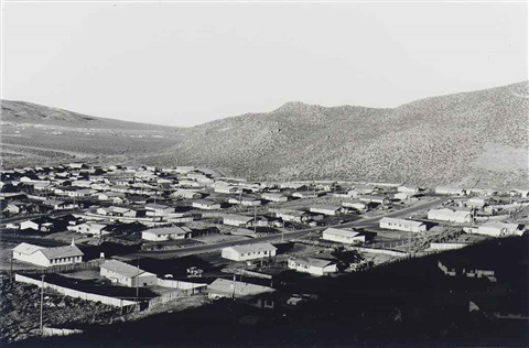 lemmon valley looking northeast from nevada by lewis baltz