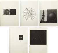 the view (set of 5) by vija celmins