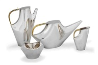como tea and coffee set (set of 4) by lino sabbatini
