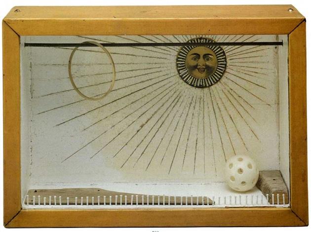 sun box by joseph cornell