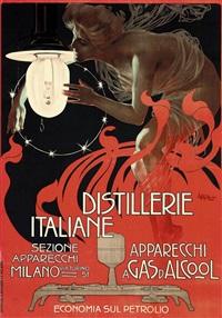 distillerie italiane by leopoldo metlicovitz