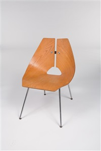 side chair (model no. 939) by ray komai