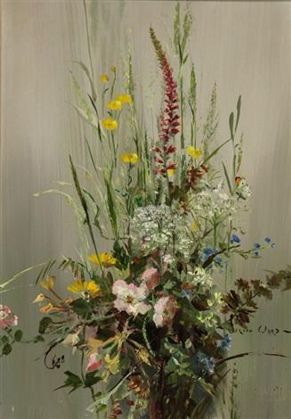 dorset gardens wild flowers pair by vernon ward