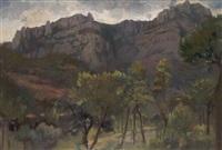 paisaje catalán by luis lladó