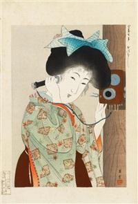 ima sugata (moderne figuren) by shoun yamamoto