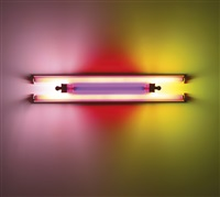untitled (to madeline and eric kraft) by dan flavin