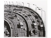 freeway curve (from recent etchings i) by wayne thiebaud