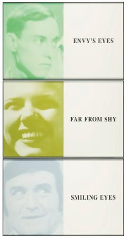 prima facie fifth state envys eyesfar from shysmiling eyes in 3 parts by john baldessari