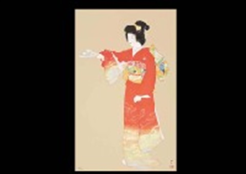 jo no mai dance performed in a no play by shoen uemura