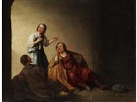 josef in ägyptischer gefangenschaft by pieter symonsz potter