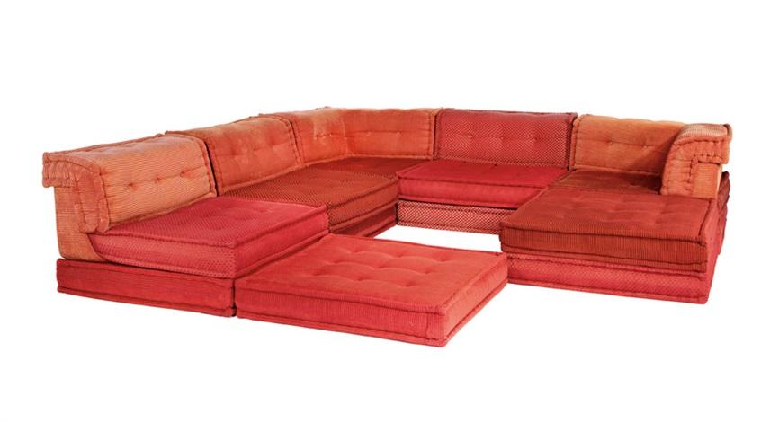 Mah Jong Modular Sofa (6) By Hans Hopfer