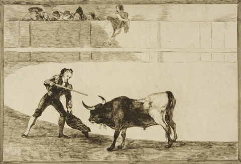 la tauromaquia 4 works by francisco de goya