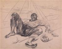 vagabond by pavel petrovich sokolov-skalua