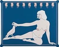 bird lady (from 11 pop artists, volume ii) by john wesley