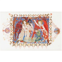 the angels of destiny by phoebe anna traquair