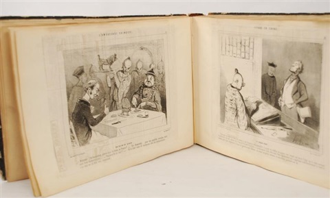 platier cham et autres album wvarious works by honoré daumier
