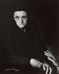 old woman, france by gordon parks