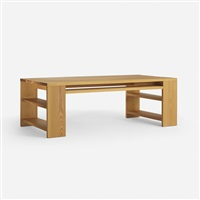 library desk by donald judd