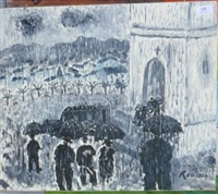 sous la pluie by roussin