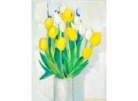 yellow tulips by christina snellman