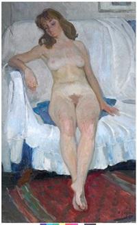 sleeping nude by vladimir i. nekrasov