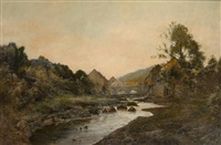 le ruisseau by charles warland