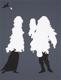 scene no. 15 (from the emancipation approximation) by kara walker