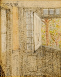 interior, cos cob cottage by elmer livingston macrae