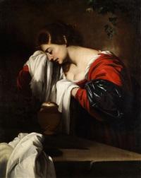 die trauer der heiligen maria magdalena by nicolas regnier