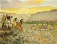 circle of the wagons by edward burns quigley