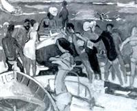 la llegada de la barca by ignasi mundó