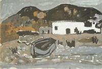 paysage de grèce by raymond guerrier