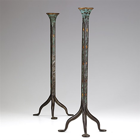 candlesticks pair by morgan colt