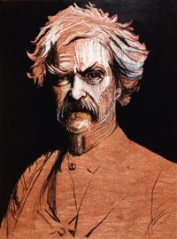 mark twain by zack smithey