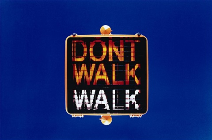 don't walk, walk by marijke van warmerdam