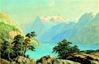 lac de montagne by jean nicholas karth