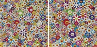 flowers (set of 2) by takashi murakami