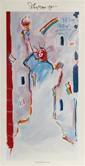 statue of liberty 1 by peter max